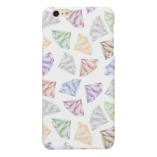 Colorful Diamonds for my sweetheart Matte iPhone 6 Plus Case