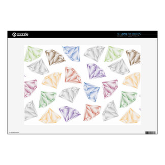 """Colorful Diamonds for my sweetheart Skin For 13"""" Laptop"""