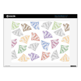 Colorful Diamonds for my sweetheart Skins For Acer Chromebook