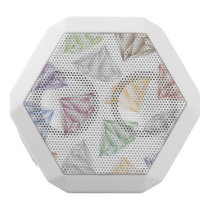 Colorful Diamonds for my sweetheart White Bluetooth Speaker