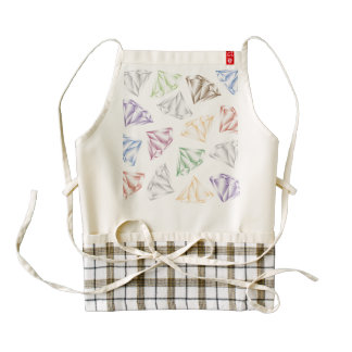 Colorful Diamonds for my sweetheart Zazzle HEART Apron