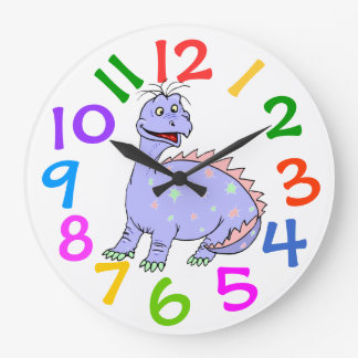 Colorful Diansour Kids Room Wall Clock