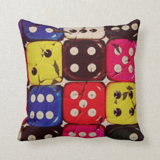 Colorful Dices Pillows