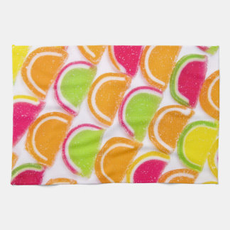 Colorful Different Jelly Candy Hand Towels