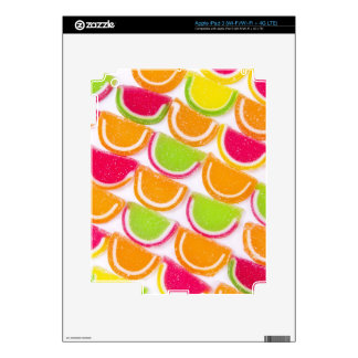 Colorful Different Jelly Candy iPad 3 Skin