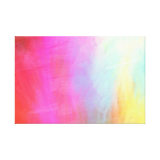 Colorful Digital Abstract Art Canvas Print