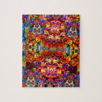 Colorful Digital Abstract Art Puzzle