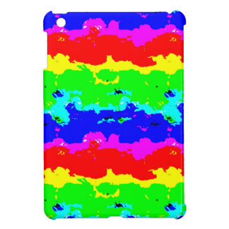Colorful Digital Abstract Collage Cover For The iPad Mini