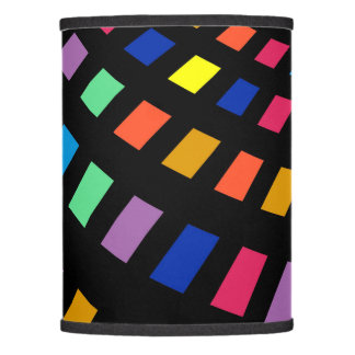 Colorful Digital Rainbow Lamp Shade