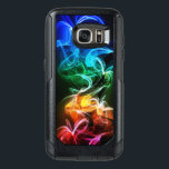 "Colorful Digital Smoke OtterBox Samsung Galaxy S7 Case<br><div class=""desc"">This awesome case features an image of some quite colorful smoke. Please feel free to customize the Style Options,  as You wish.</div>"