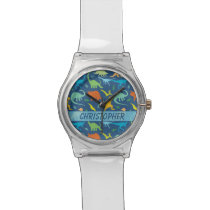 Colorful Dinosaur to Personalize Watch