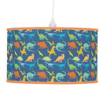 Colorful Dinosaurs Ceiling Lamp