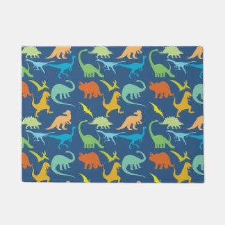 Colorful Dinosaurs Doormat