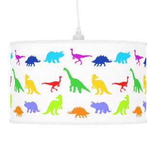 Colorful Dinosaurs Hanging Pendant Lamp