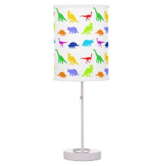 Colorful Dinosaurs Desk Lamps