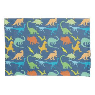 Colorful Dinosaurs Pillowcase