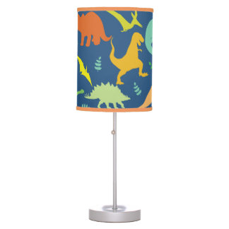 Colorful Dinosaurs Table Lamp