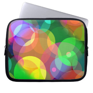 Colorful Disco Dots Computer Sleeve