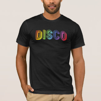 Colorful DISCO text T-Shirt