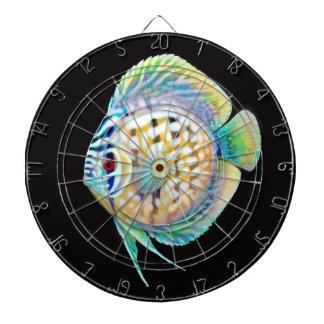 Colorful Discus Aquarium Fish Dart Board