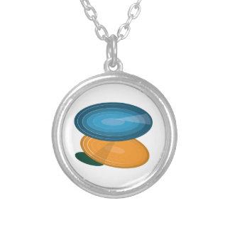 Colorful Disks Necklaces