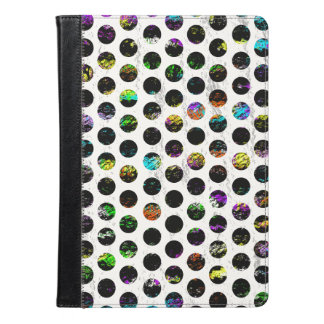 Colorful Distressed Polkadots iPad Air Case