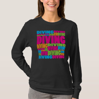 Colorful Diving T-Shirt