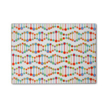 Colorful DNA structure pattern Post-it Notes