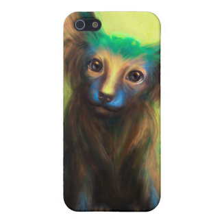 Colorful Dog Cover For iPhone SE/5/5s
