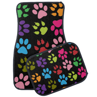 Dog Paw Print Car Floor Mats Zazzle