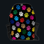 "Colorful Dog Paws Messenger Bag<br><div class=""desc"">If you have clicked on this item it must be because you saw something nice about it, didn&#39;t you? Then, why don&#39;t you take it home? THINK ABOUT IT! Believe it or not, this item is ""Rated WOW"" and what makes it really exceptional and spectacular is its incredible HIGH-QUALITY, from...</div>"