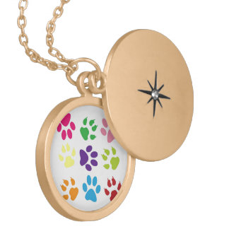 Colorful Dog Paws Jewelry