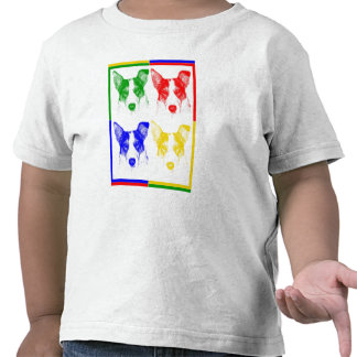 Colorful dog shirt for kids