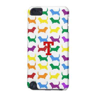 Colorful Dog Silhouette iPod Touch 5g Case