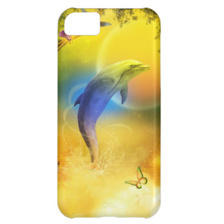 Colorful Dolphin iPhone 5C Case