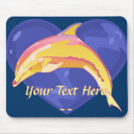 Colorful Dolphin Mousepad