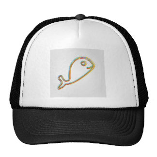 Colorful Dolphin Trucker Hat