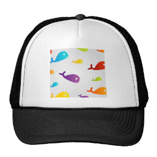 Colorful Dolphins Trucker Hat