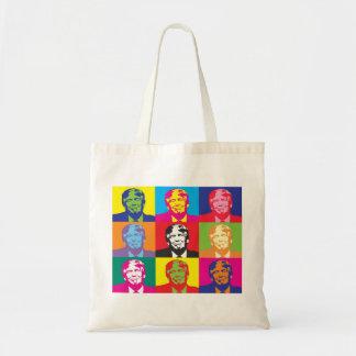 Colorful Donald Trump Tote Bag