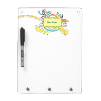 Colorful doodle art Dry-Erase board