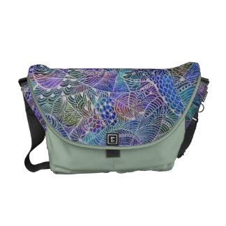 Colorful Doodle Commuter Bags