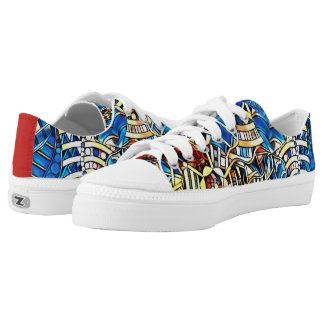 COLORFUL DOODLES Low-Top SNEAKERS