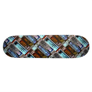 Colorful Doors Collage Skateboard Deck