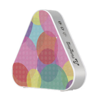 Colorful Dots Abstract Pattern Pieladium Speaker