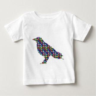 Colorful DOTS CROW Bird Kids NavinJOSHI NVN54 ZOO Baby T-Shirt