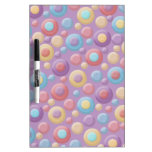 Colorful Dots Dry Erase Board Dry Erase Whiteboards