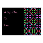 Colorful Dots Gift Tags Business Card