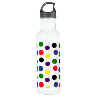 Colorful Dots Liberty 24oz Water Bottle