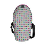 Colorful Dots Messenger Bags