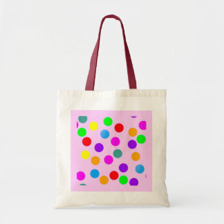colorful_dots_on_pink bag